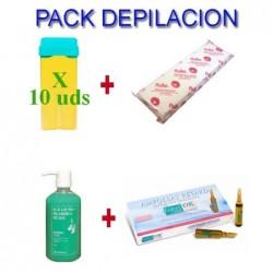 Pack Depilaciñn: Cera +...